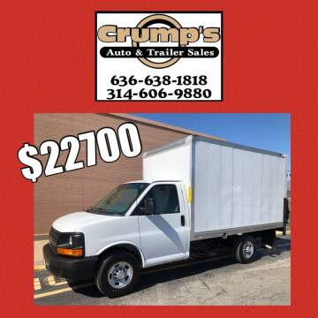 2016 Chevrolet Express Cutaway for sale at CRUMP'S AUTO & TRAILER SALES in Crystal City MO