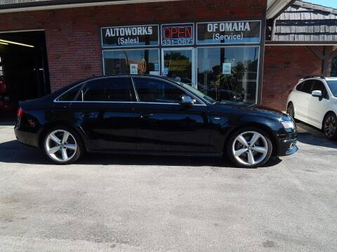 2012 Audi A4 for sale at AUTOWORKS OF OMAHA INC in Omaha NE
