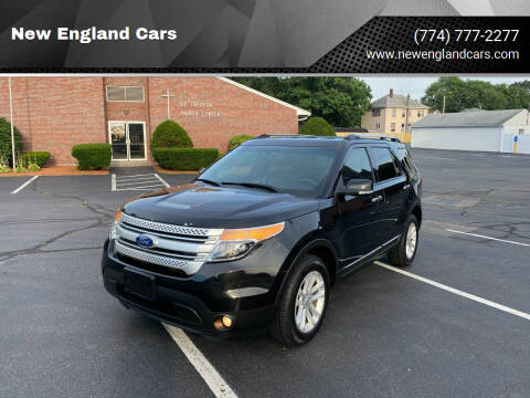 2015 Ford Explorer for sale at New England Cars in Attleboro MA