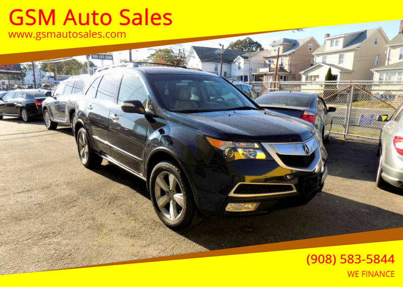 2012 Acura MDX for sale at GSM Auto Sales in Linden NJ
