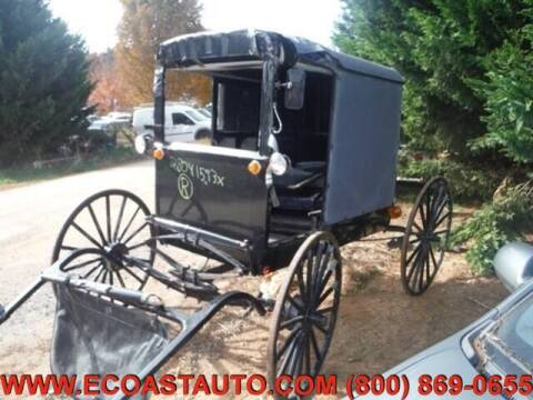 2000 Amish Horse Bugg for sale at East Coast Auto Source Inc. in Bedford VA