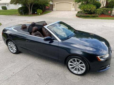 2015 Audi A5 for sale at Exceed Auto Brokers in Lighthouse Point FL