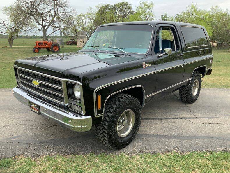 1979 Chevrolet Blazer for sale in Fredericksburg, TX