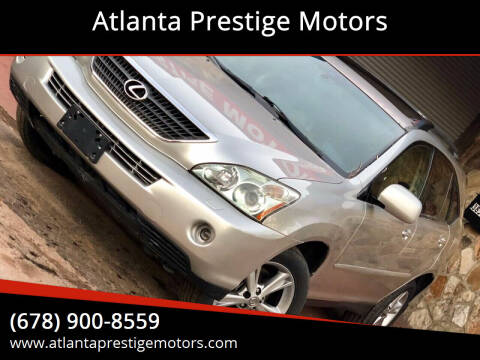 2006 Lexus RX 400h for sale at Atlanta Prestige Motors in Decatur GA