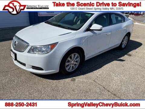 2010 Buick LaCrosse for sale at Spring Valley Chevrolet Buick in Spring Valley MN