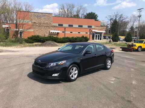 2015 Kia Optima for sale at DILLON LAKE MOTORS LLC in Zanesville OH