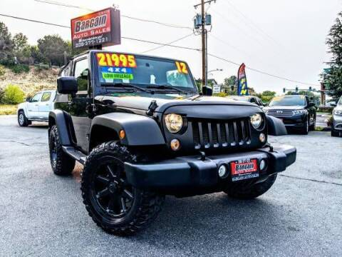 2012 Jeep Wrangler for sale at Bargain Auto Sales in Garden City ID