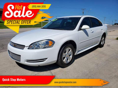 2013 Chevrolet Impala for sale at Quick Stop Motors in Kansas City MO
