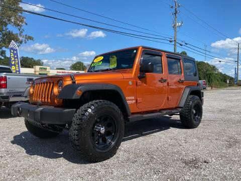 2011 Jeep Wrangler Unlimited for sale at 216 Auto Sales in Mc Calla AL