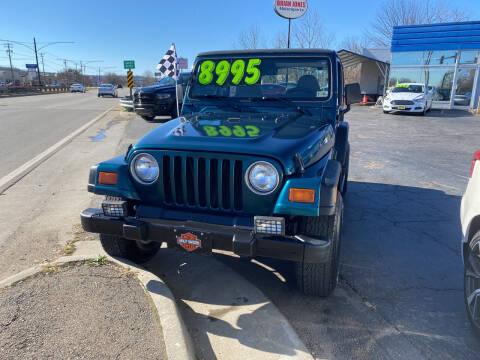1998 Jeep Wrangler for sale at Brian Jones Motorsports Inc in Danville VA