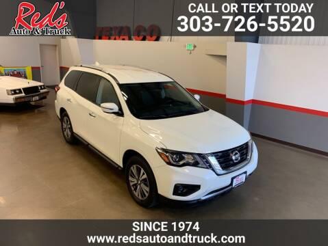 2020 Nissan Pathfinder for sale at Red's Auto and Truck in Longmont CO
