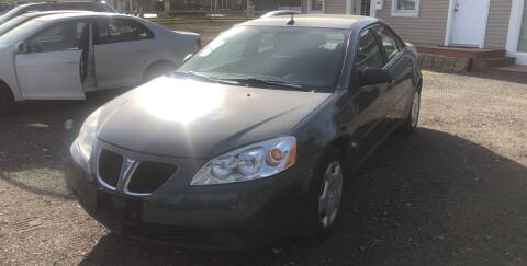 2008 Pontiac G6 for sale at AUTO OUTLET in Taunton MA