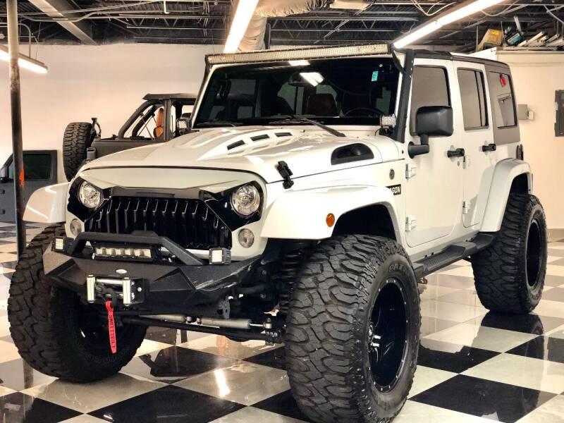 2018 Jeep Wrangler JK Unlimited for sale at South Florida Jeeps in Fort Lauderdale FL