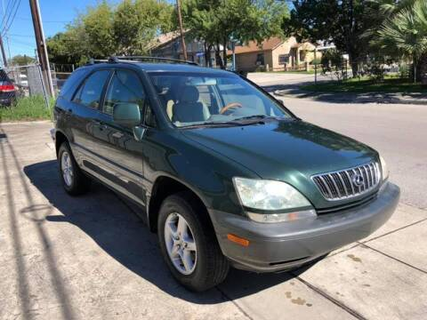 2001 Lexus RX 300 for sale at Carzready in San Antonio TX