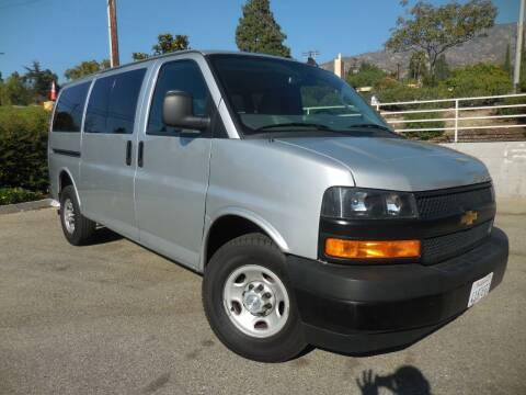 2018 Chevrolet Express Cargo for sale at ARAX AUTO SALES in Tujunga CA