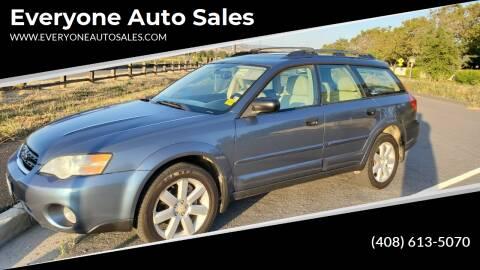 2006 Subaru Outback for sale at Everyone Auto Sales in Santa Clara CA