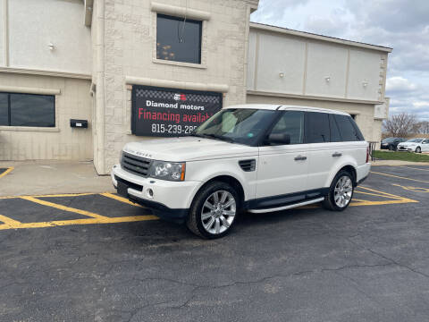 2009 Land Rover Range Rover Sport for sale at Diamond Motors in Pecatonica IL