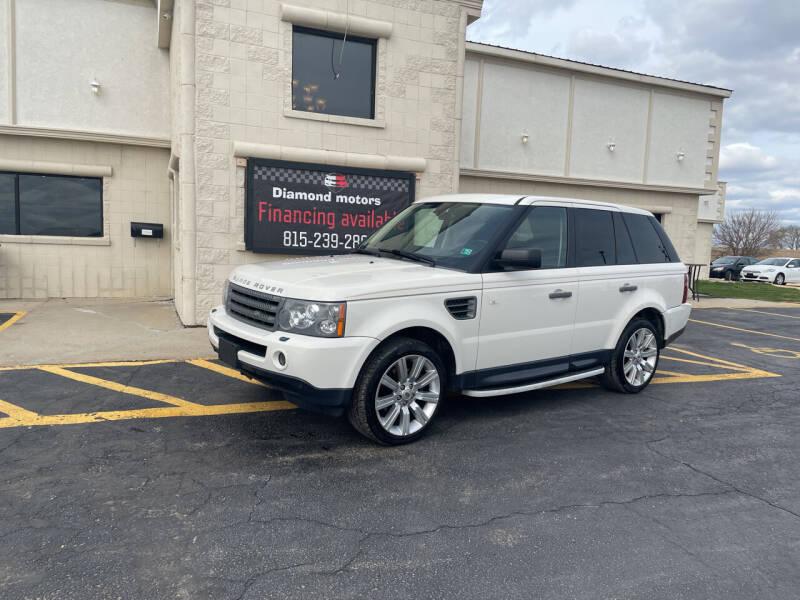2009 Land Rover Range Rover Sport for sale at Diamond Motors in Pecatonica IL