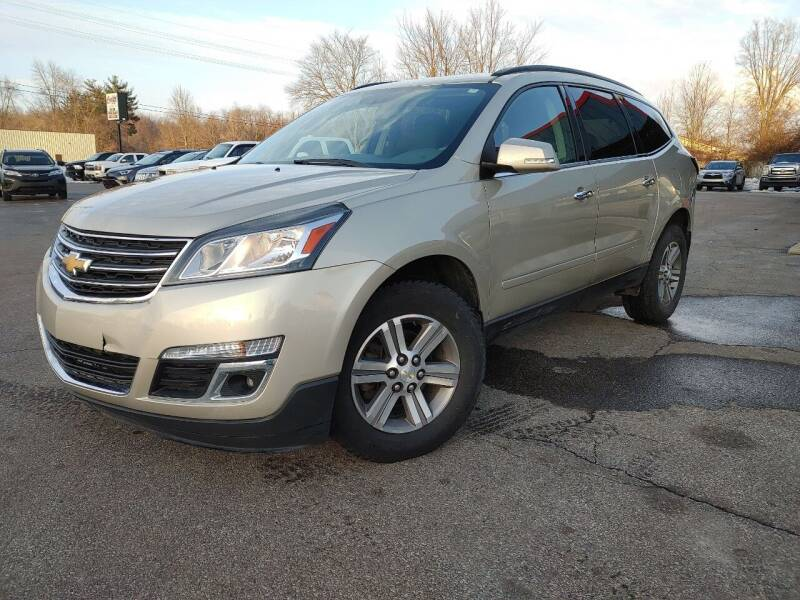 2015 Chevrolet Traverse for sale at Cruisin' Auto Sales in Madison IN