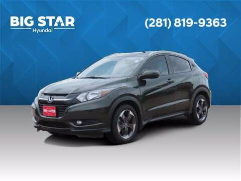 2018 Honda HR-V for sale at BIG STAR HYUNDAI in Houston TX