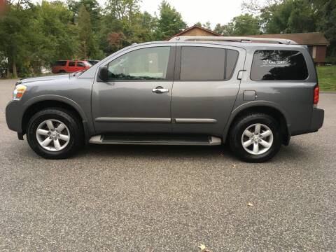 2013 Nissan Armada for sale at Lou Rivers Used Cars in Palmer MA