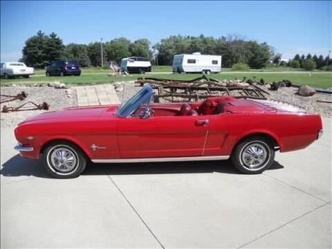 1966 Ford Mustang for sale at OLSON AUTO EXCHANGE LLC in Stoughton WI