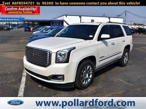 2015 GMC Yukon for sale at South Plains Autoplex by RANDY BUCHANAN in Lubbock TX