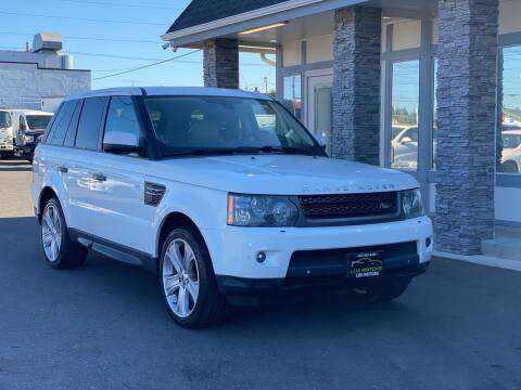 2011 Land Rover Range Rover Sport for sale at Lux Motors in Tacoma WA