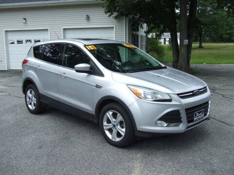2014 Ford Escape for sale at DUVAL AUTO SALES in Turner ME