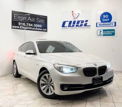 2015 BMW 5 Series for sale at Elegant Auto Sales in Rancho Cordova CA