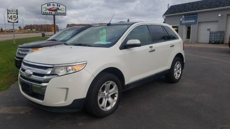 2011 Ford Edge for sale at D AND D AUTO SALES AND REPAIR in Marion WI