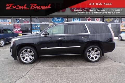 2015 Cadillac Escalade for sale at Ford Road Motor Sales in Dearborn MI