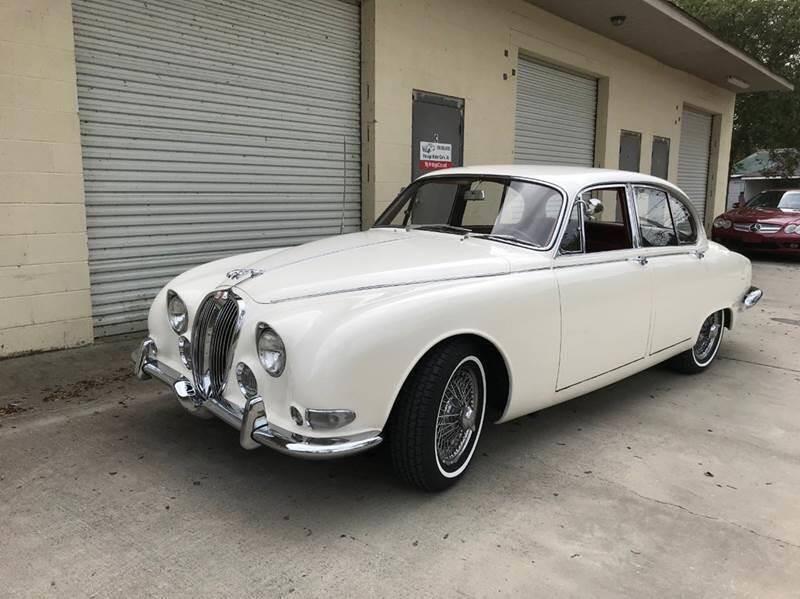 1967 Jaguar Mark II  3.8L S type for sale at Vintage Motor Cars LLC in Rossville GA