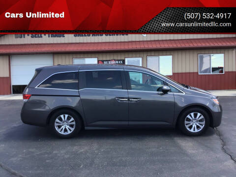 2014 Honda Odyssey for sale at Cars Unlimited in Marshall MN