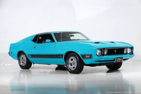 1973 Ford Mustang for sale at Motorcar Classics in Farmingdale NY