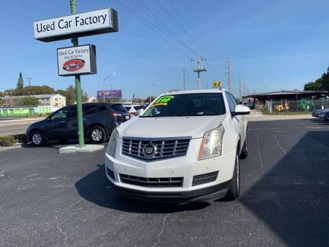 2013 Cadillac SRX for sale at Used Car Factory Sales & Service in Bradenton FL