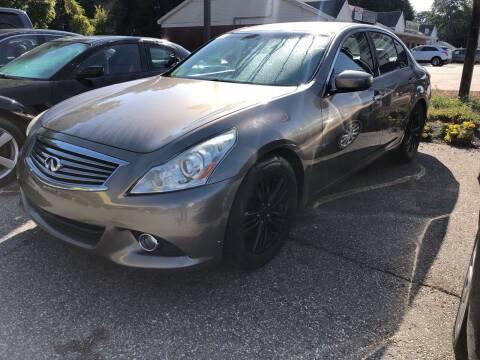 2011 Infiniti G37 Sedan for sale at Barga Motors in Tewksbury MA
