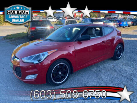 2012 Hyundai Veloster for sale at J & E AUTOMALL in Pelham NH