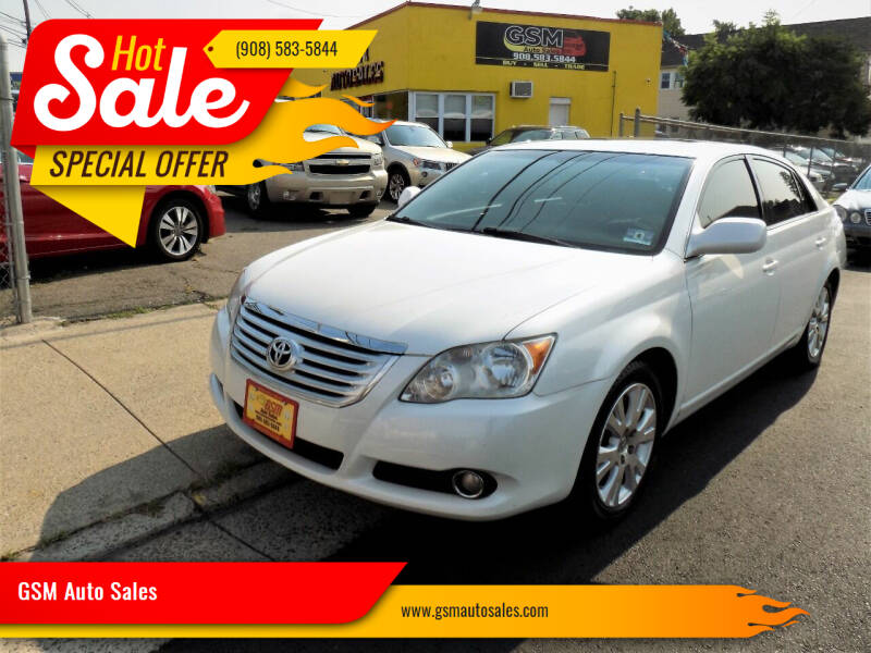 2010 Toyota Avalon for sale at GSM Auto Sales in Linden NJ