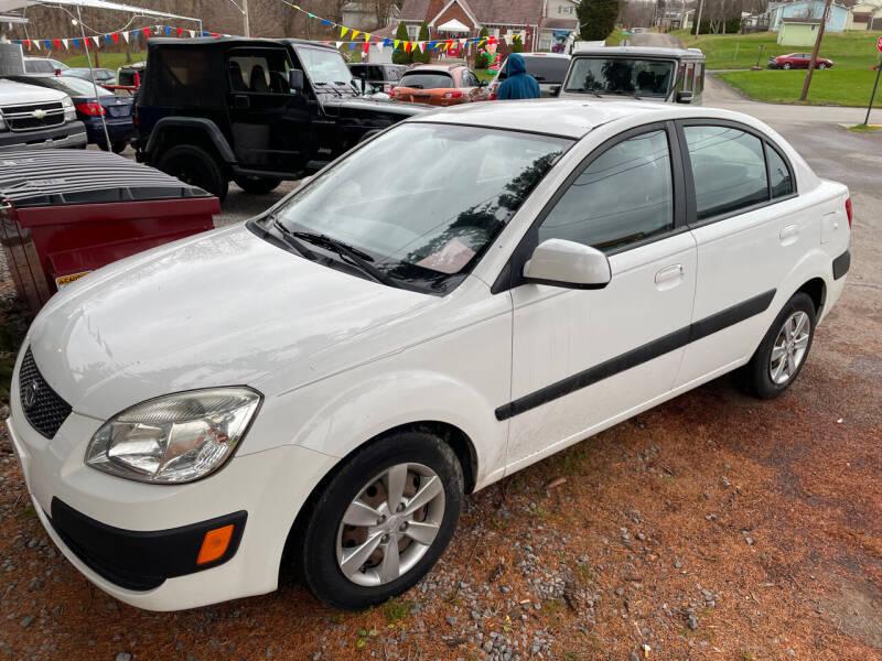 2009 Kia Rio for sale at Trocci's Auto Sales in West Pittsburg PA
