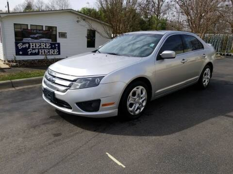 2011 Ford Fusion for sale at TR MOTORS in Gastonia NC