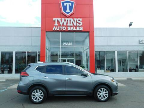 2017 Nissan Rogue for sale at Twins Auto Sales Inc Redford 1 in Redford MI