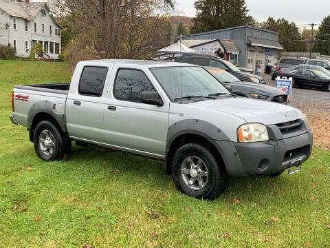 2003 Nissan Frontier for sale at Saratoga Motors in Gansevoort NY
