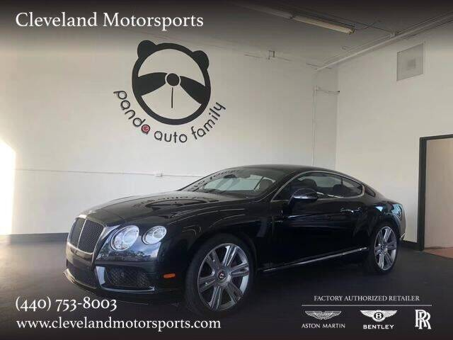 2013 Bentley Continental for sale at Drive Options in North Olmsted OH