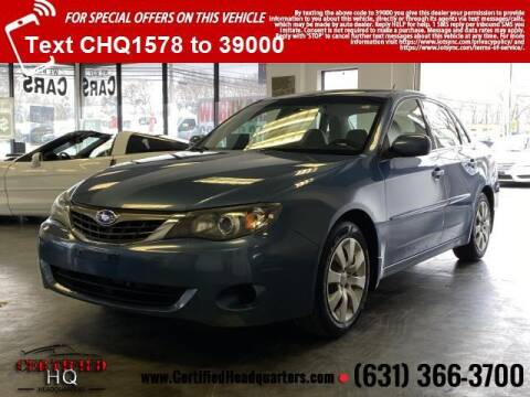 2009 Subaru Impreza for sale at CERTIFIED HEADQUARTERS in St James NY