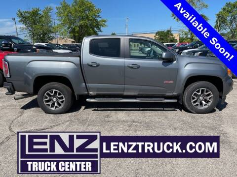 2019 GMC Canyon for sale at LENZ TRUCK CENTER in Fond Du Lac WI
