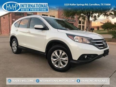 2013 Honda CR-V for sale at International Motor Productions in Carrollton TX
