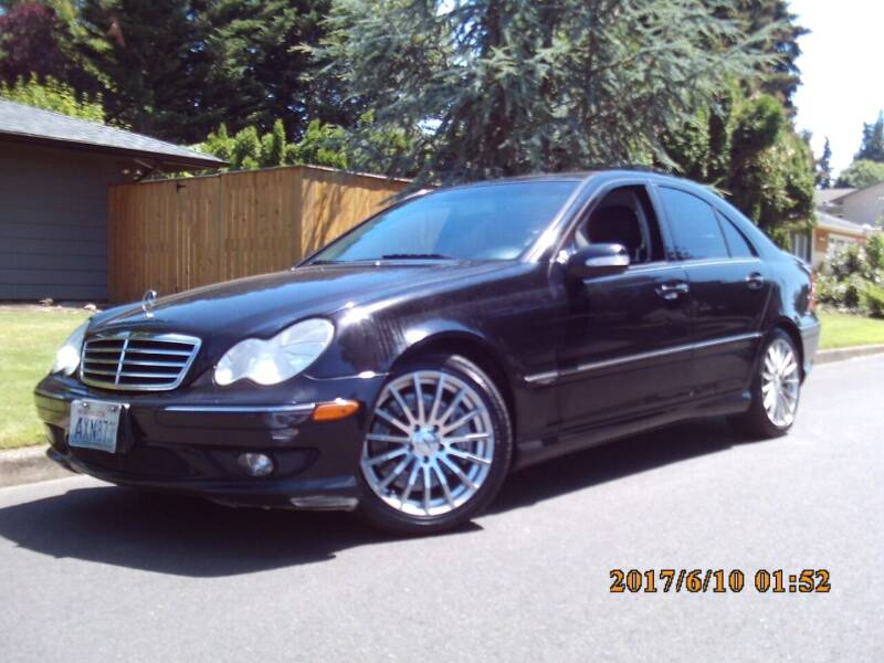 2007 Mercedes-Benz C-Class for sale at Redline Auto Sales in Vancouver WA
