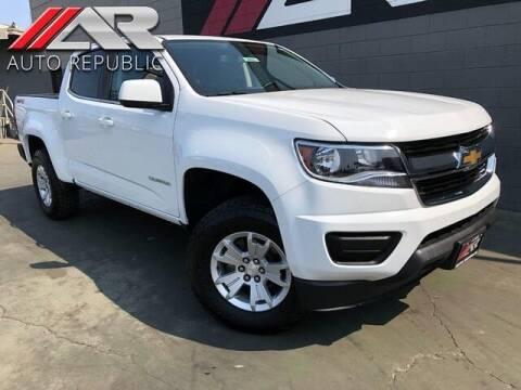 2018 Chevrolet Colorado for sale at Auto Republic Fullerton in Fullerton CA
