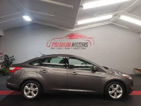 2014 Ford Focus for sale at Premium Motors in Villa Park IL